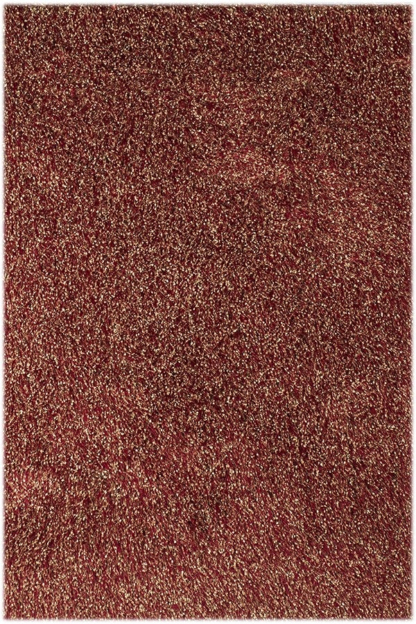 Red (PEK-4) Shag Area Rug