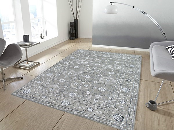 Silver Sand Traditional / Oriental Area Rug