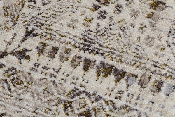 Gold, Beige, Grey Bohemian Area Rug