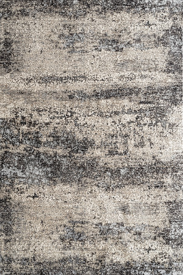Beige, Dark Grey, Ivory Contemporary / Modern Area Rug