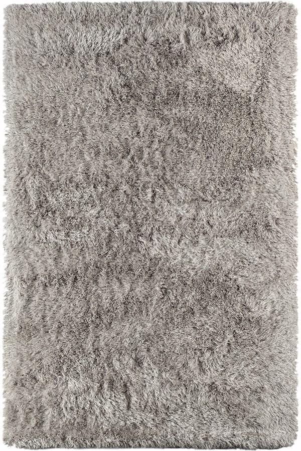 Light Grey (MET-11) Shag Area Rug