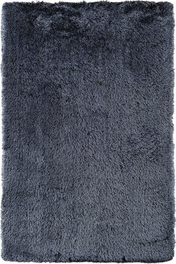 Steel Blue (MET-7) Shag Area Rug