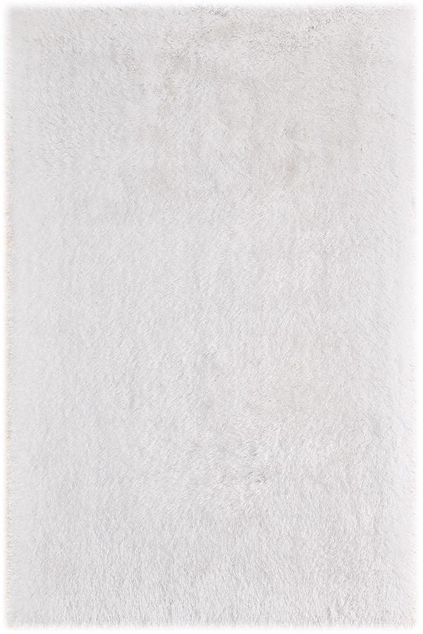 White (MET-12) Shag Area Rug