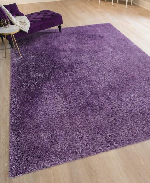 Purple (MET-46) Shag Area Rug