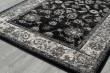 Product Image of Black, Silver, White Traditional / Oriental Area Rug