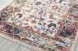 Product Image of Ivory, Blue, Orange Vintage / Overdyed Area Rug