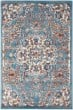 Product Image of Blue, Orange, Ivory Traditional / Oriental Area Rug