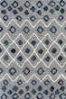 Product Image of Steel Blue, Gray Shag Area Rug