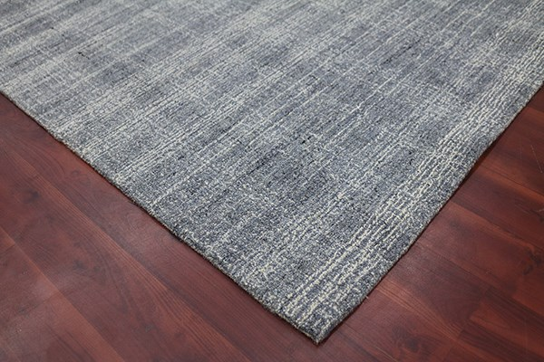 Gray (LAU-3) Rustic / Farmhouse Area Rug