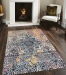 Product Image of Navy, Yellow, Amber, Pink Bohemian Area Rug