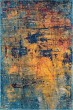 Product Image of Orange, Blue, Red Abstract Area Rug