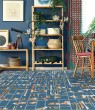 Product Image of Blue (PRL-22) Contemporary / Modern Area Rug