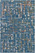 Product Image of Contemporary / Modern Blue (PRL-22) Area Rug
