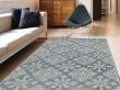 Product Image of Dark Grey, Ivory Moroccan Area Rug