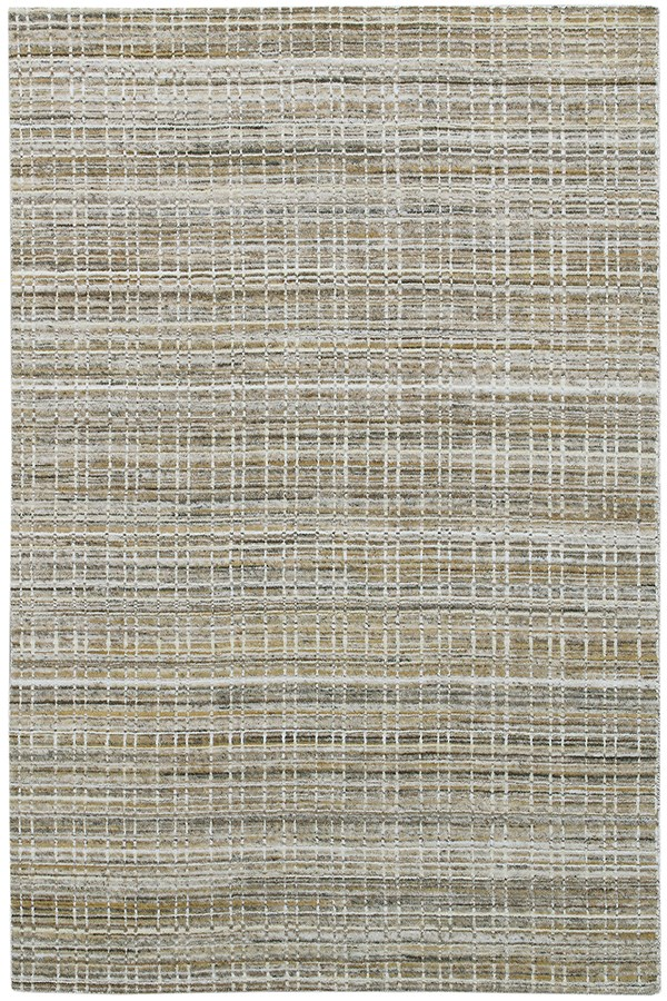 Gold, Grey (PRD-03) Casual Area Rug