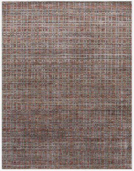 Red, Grey (PRD-5) Casual Area Rug