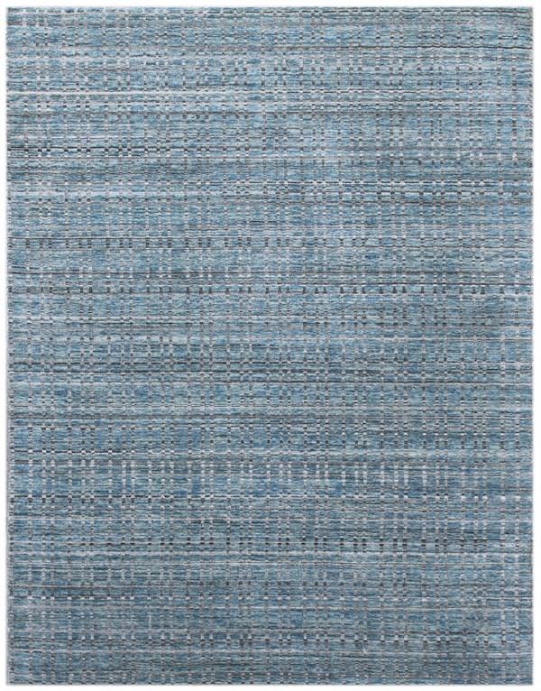 Light Blue, Grey (PRD-6) Casual Area Rug