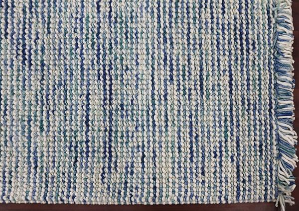 Blue, Green, Ivory (VIV-01) Rustic / Farmhouse Area Rug