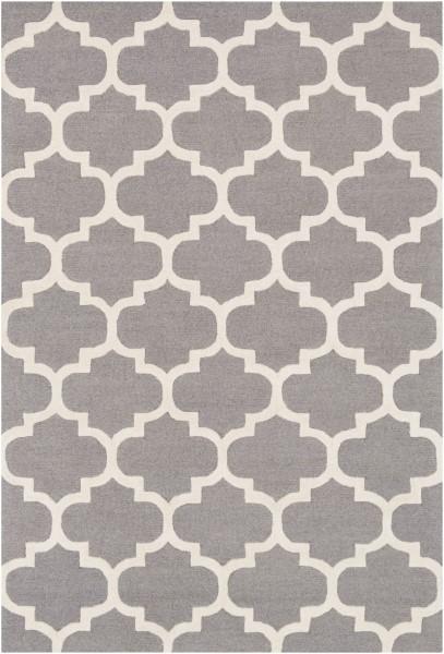 Grey, White (AWAH-2033) Contemporary / Modern Area Rug