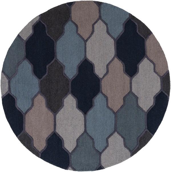 Blue (AWAH-2042) Moroccan Area Rug