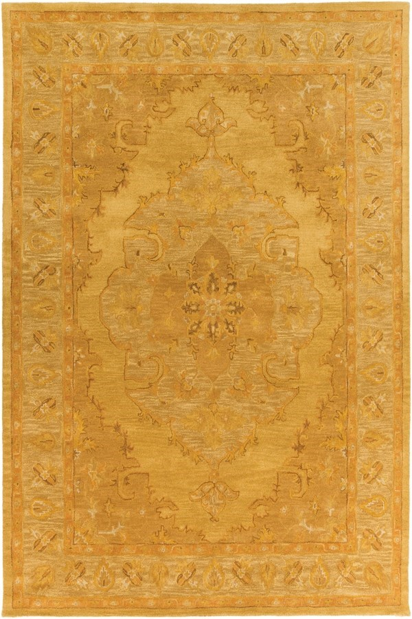 Tan, Sage (AWHR-2059) Traditional / Oriental Area Rug