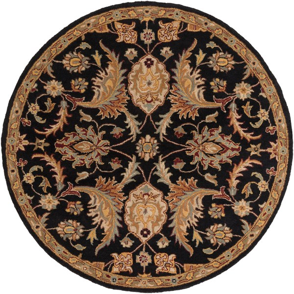 Black (AWMD-2078) Traditional / Oriental Area Rug