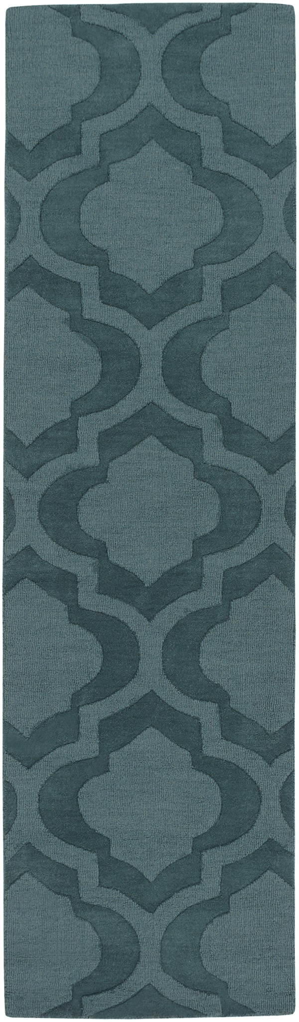 Teal (AWHP-4010) Moroccan Area Rug
