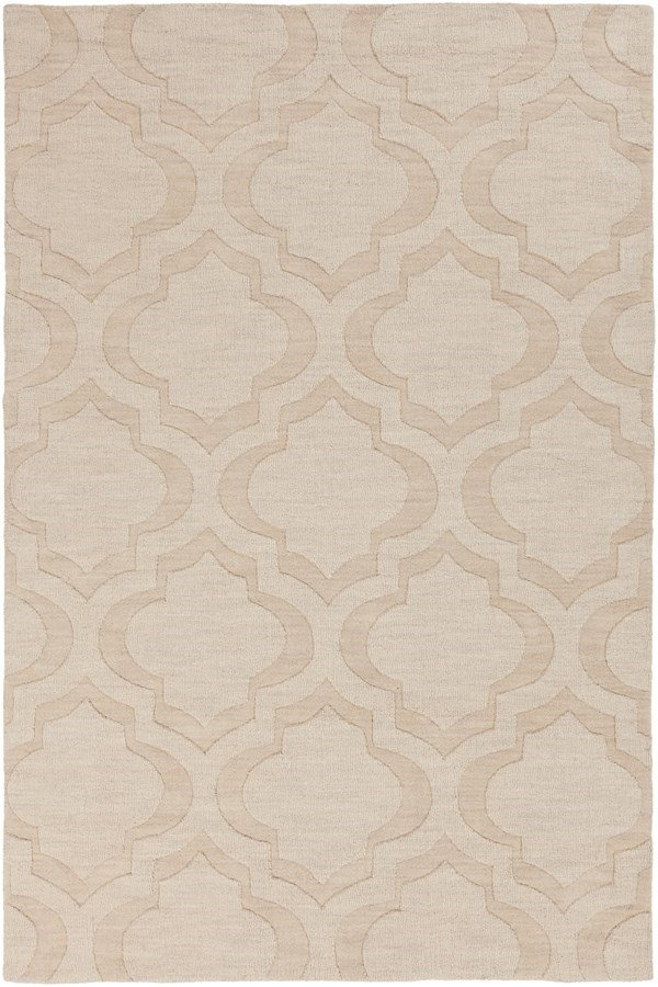 Beige (AWHP-4012) Moroccan Area Rug