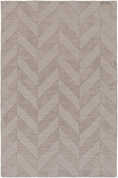 Grey (AWHP-4025) Textured Solid Area Rug