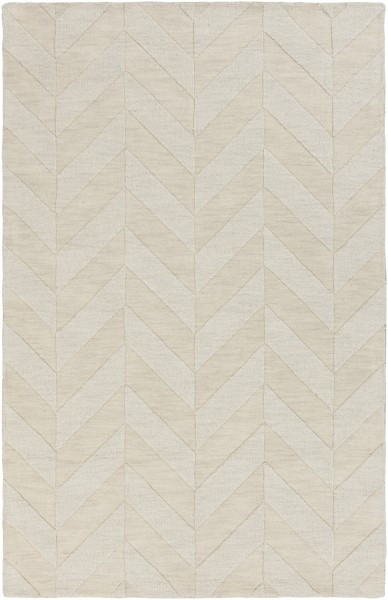 Ivory (AWHP-4028) Textured Solid Area Rug