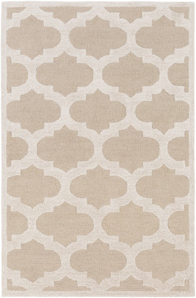 Beige, Ivory (AWRS-2119) Contemporary / Modern Area Rug