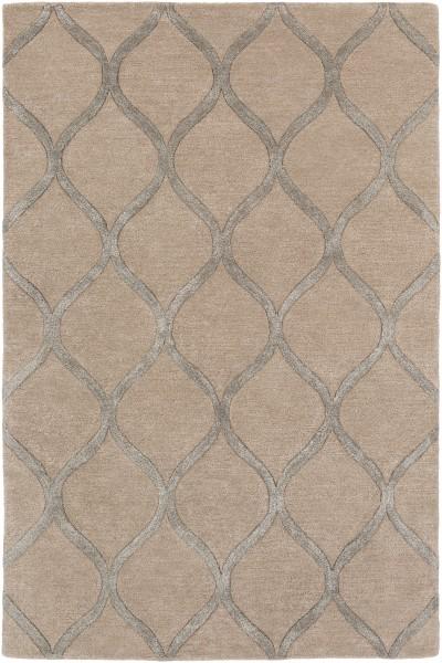 Beige, Metallic (AWUB-2152) Contemporary / Modern Area Rug