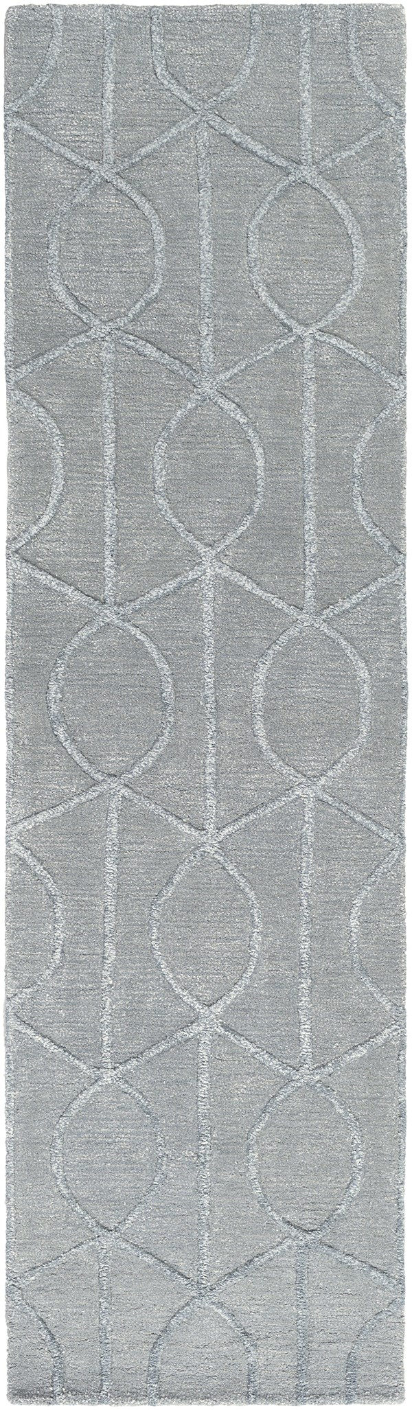 Light Blue (AWUB-2160) Transitional Area Rug