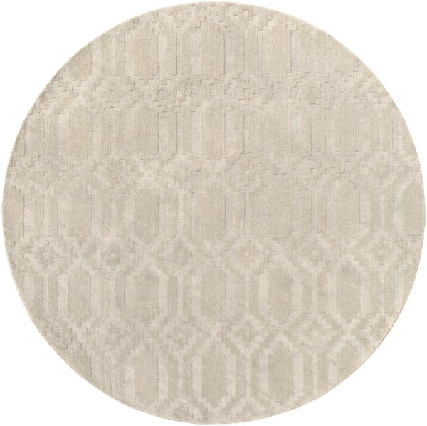 Ivory (AWMP-4010) Textured Solid Area Rug