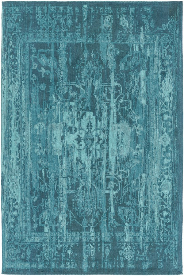 Teal (AWET-3073) Vintage / Overdyed Area Rug