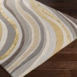 Product Image of Grey, Gold (LGE-2291) Contemporary / Modern Area Rug