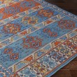 Product Image of Denim Blue, Poppy Red, Turquoise (SAJ-1062) Outdoor / Indoor Area Rug