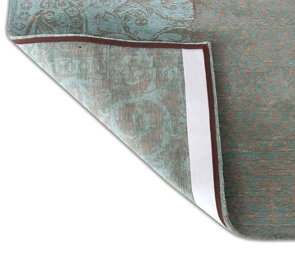 Aqua Green, Beige, Grey (8006) Contemporary / Modern Area Rug