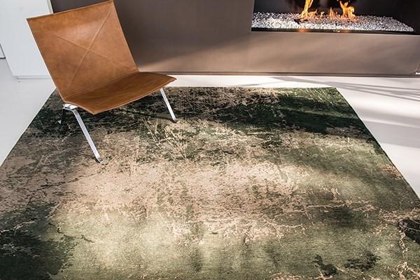 Dark Pine (8723) Abstract Area Rug