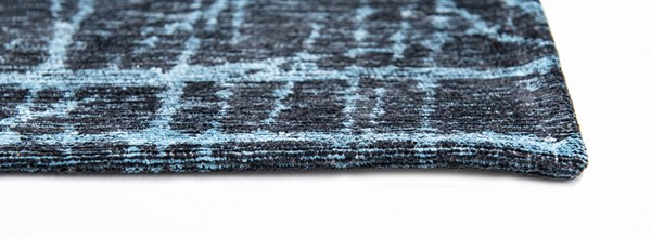 Blue, Silver, Grey (8877) Abstract Area Rug