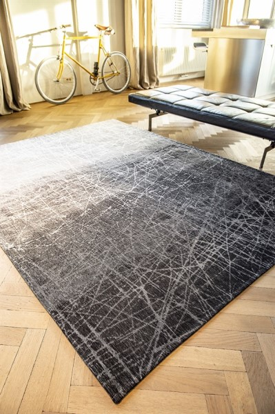 Wind Chill Grey (8881) Abstract Area Rug