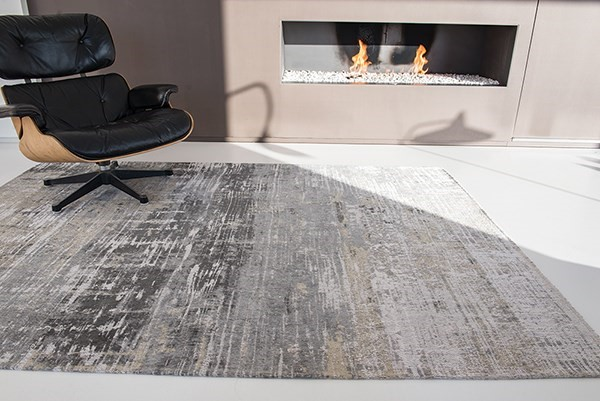 Coney Grey (8716) Abstract Area Rug