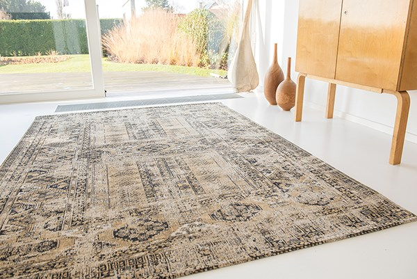 Old Gold (8720) Vintage / Overdyed Area Rug