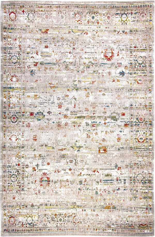 White, Red, Blue (8894) Vintage / Overdyed Area Rug