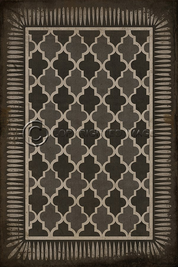 Spicher And Company Vintage Vinyl Floor Cloths Arabian