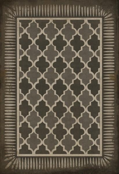 Slate Contemporary / Modern Area Rug