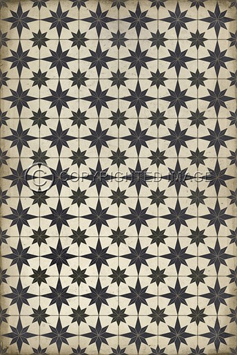 Vintage Vinyl Floor Cloths Astraea arearugs