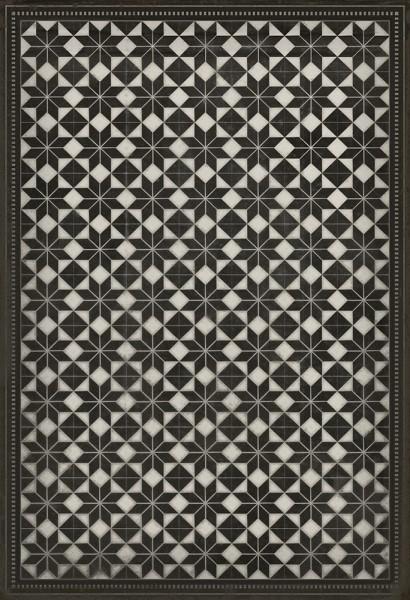 Black, Ivory Transitional Area Rug
