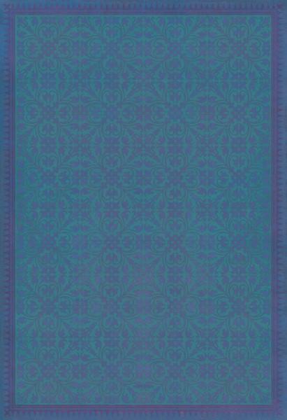 Blue, Purple Contemporary / Modern Area Rug