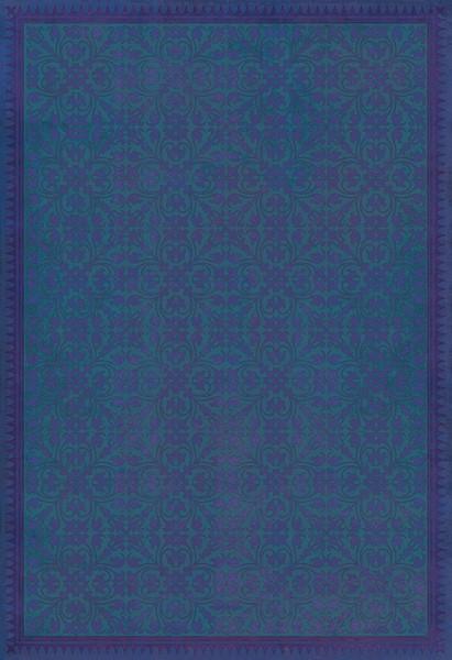 Blue, Purple Transitional Area Rug